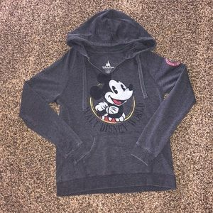 Disney Parks Mickey Mouse Hoodie Large